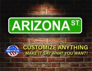 Street Sign Customization Arizona