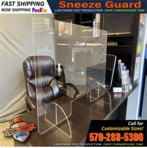 Sneeze Guard Display