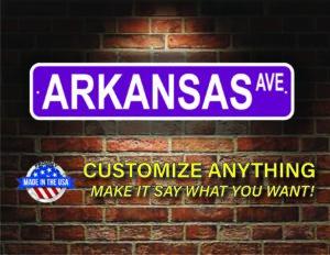 Street Sign Customization Arkansas