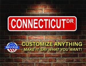 Street Sign Customization Connecticut