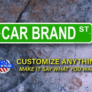Car Street Signs