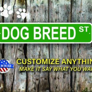 Dog Street Signs