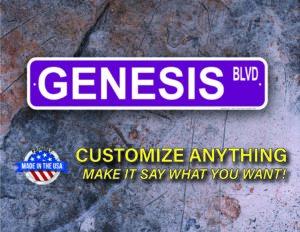 Street Sign Customization Genesis