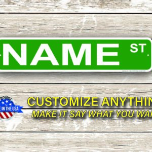 Name Street Signs