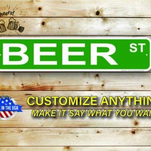 Beer Street Signs