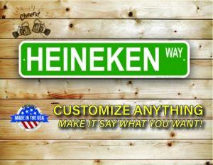 Street Sign Customization Heineken