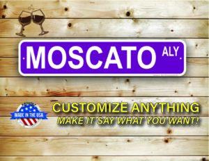 Street Sign Customization Moscato