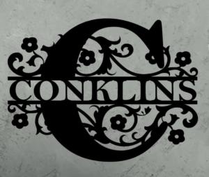 CNC Conkins Sign