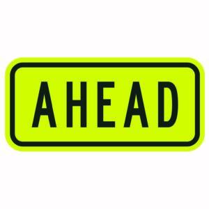 Ahead Sign