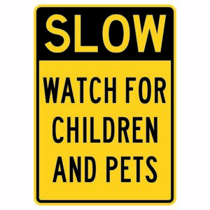 Slow Watch for Children and Pets