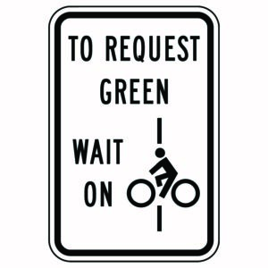 To Request Green Wait On Line Sign