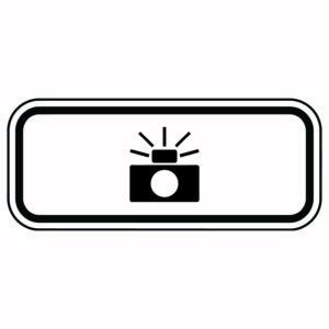 Photo Enforcement Camera Symbol Sign