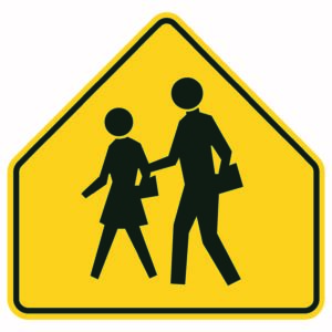 Crossing Xing Sign