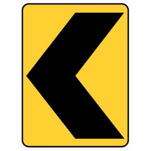 Left Chevron Sign