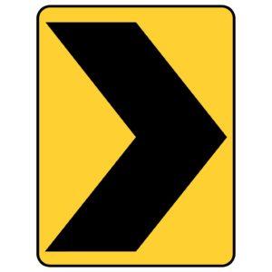 Right Chevron Sign