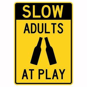 Slow Adults at Play