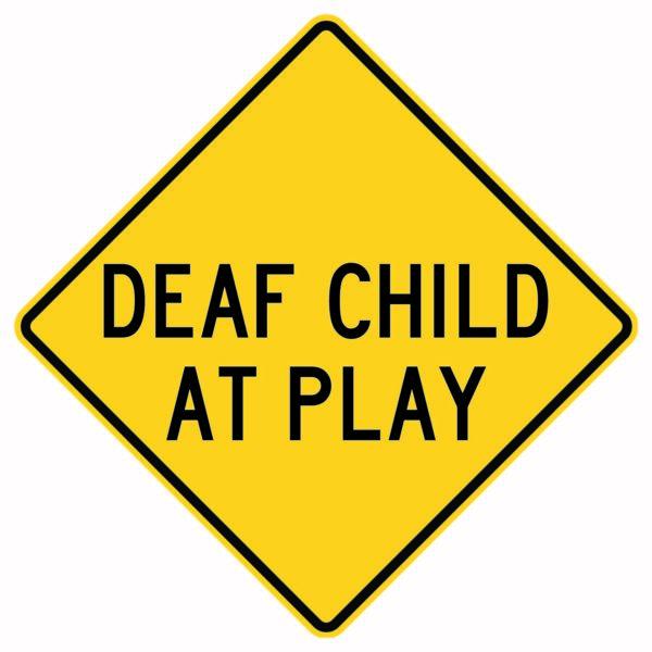 Deaf Child at Pla
