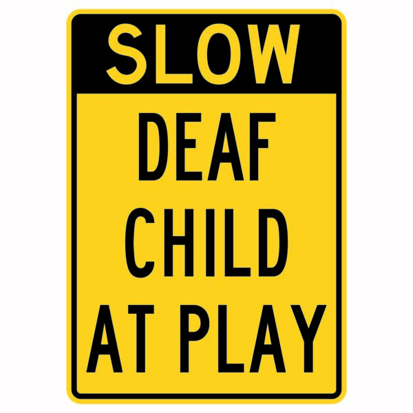 Slow Deaf Child at Play