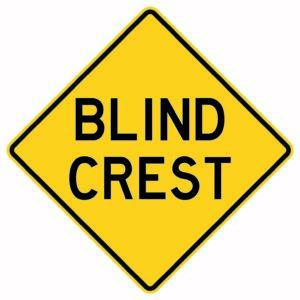 Blind Crest Sign